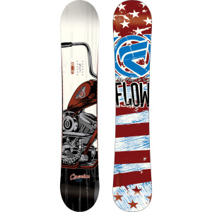 Scotty Lago's flow snowboard from art of flight