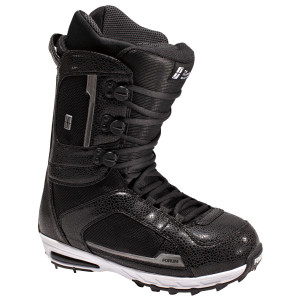 Pat Moore's snowboard boots from art of flight