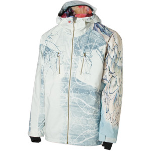 Travid Rice white jacket from art of flight
