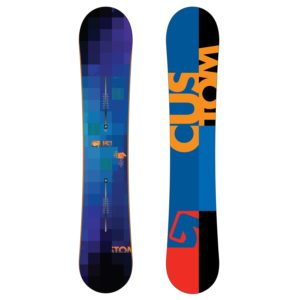 burton custom flying v snowboard 2011