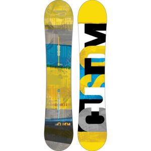 burton custom flying v snowboard 2014