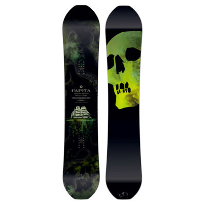 capita black snowboard of death 2017