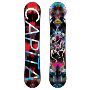 capita outdoor living snowboard 2012
