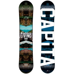 capita outdoor living snowboard 2014