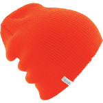 Orange Coal Beanie