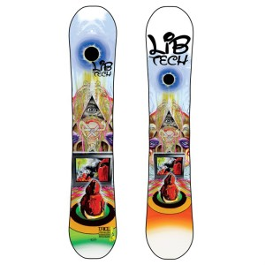 lib tech t rice snowboard 2011