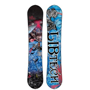 lib tech t rice snowboard 2014