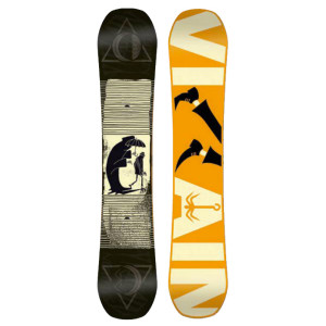 salomon villain snowboad 2016