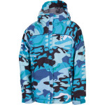 686 mannual courtney insulated jacket turquoise camo