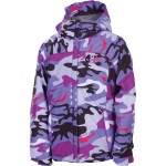 686 mannual courtney insulates jacket violet camo