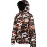 686 mannual fluid insulated jacket womens chocolate camo