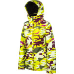 686 mannual fluid insulated jacket womens lt olive camo