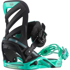 salomon hologram snowboard bindings black green 2016