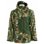 sessions truthcamo snowboarding jacket