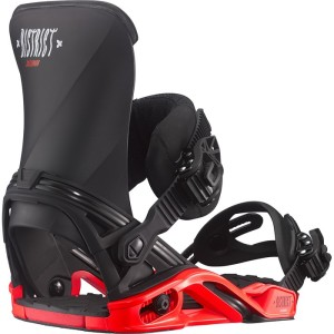 salomon district bindings 2016 red and black