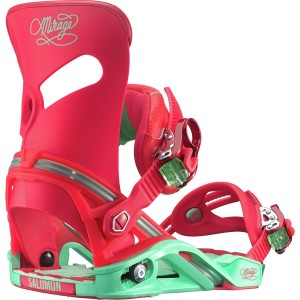 salomon mirage bindings 2016 red turquoise