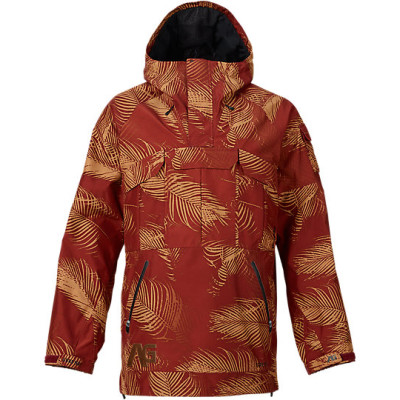 analog highmark gore-tex anorak 2016 palms oxblood