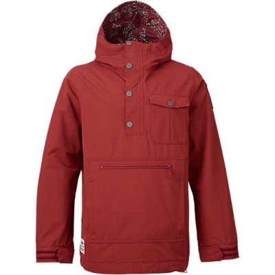 burton sawyer anorak jacket 2016