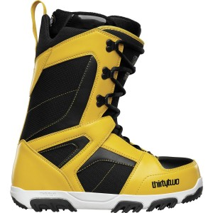 thirtytwo prion snowboard boots black yellow 2016