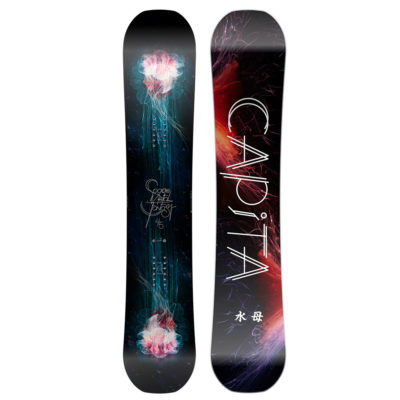 capita space metal fantasy snowboard 2017