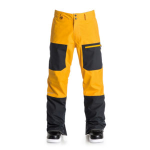 quiksilver travis rice invert 2l gore tex pants 2017 cadmium yellow