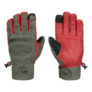 quiksilver wildcat gloves forest night