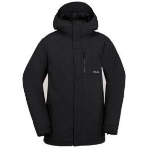 volcom l gore tex jacket black