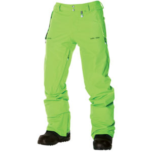 volcom l gore tex pants lime