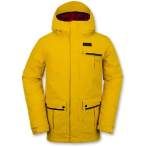 volcom pat moore jacket pissed yellow