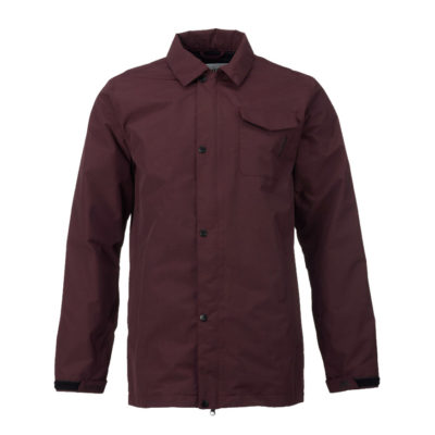 analog mantra jacket deep purple