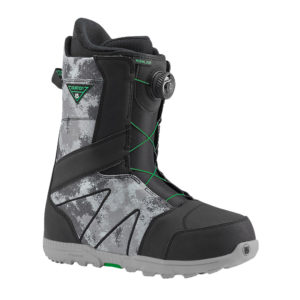 burton highline boa snowboard boots 2017 black grey