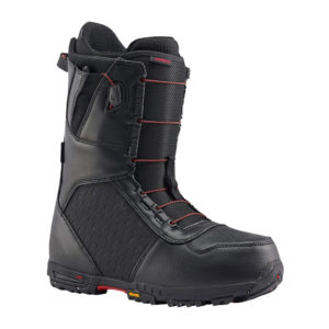burton imperial snowboard boots 2017 black red