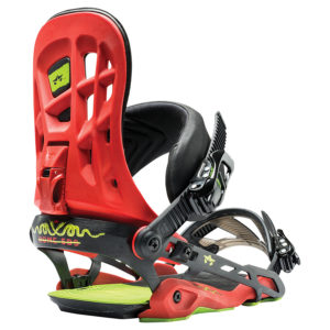 rome 390 boss bindings 2017 red