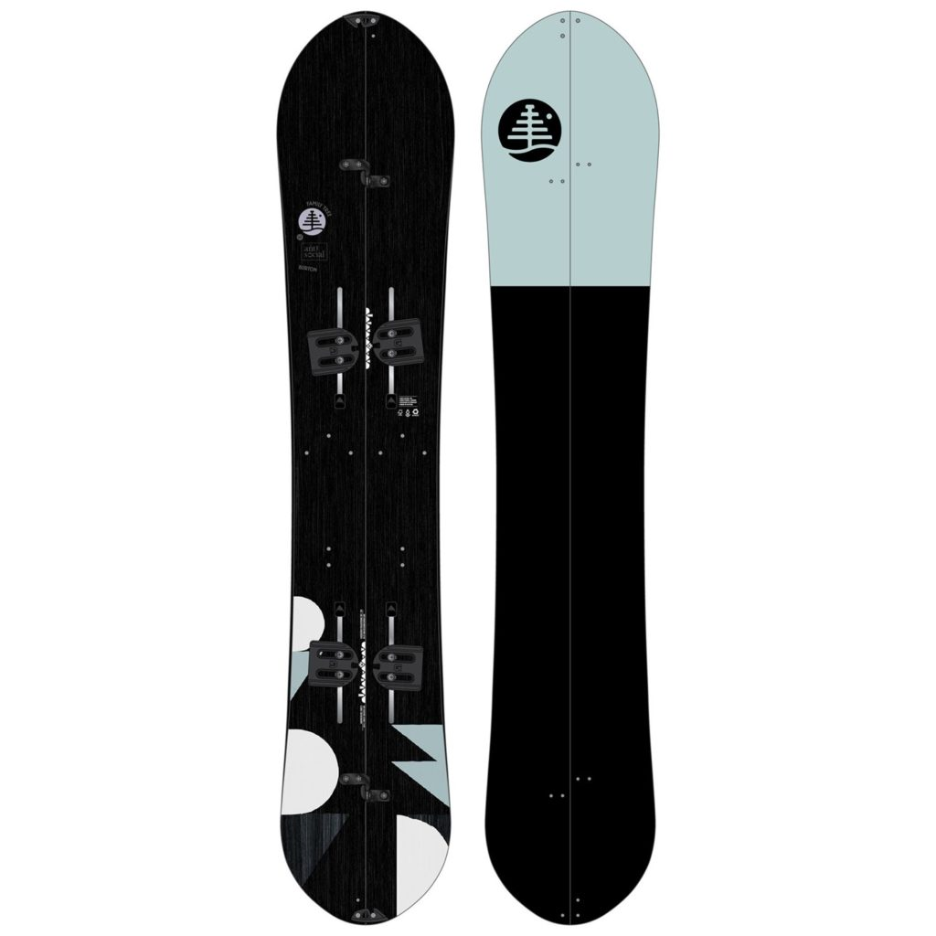burton family tree anti-social splitboard 2020