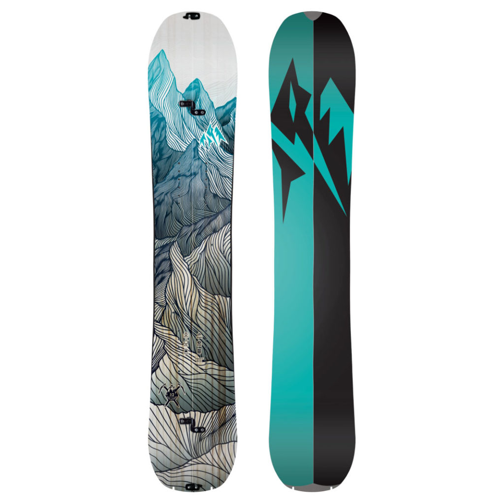 jones womens solution splitboard