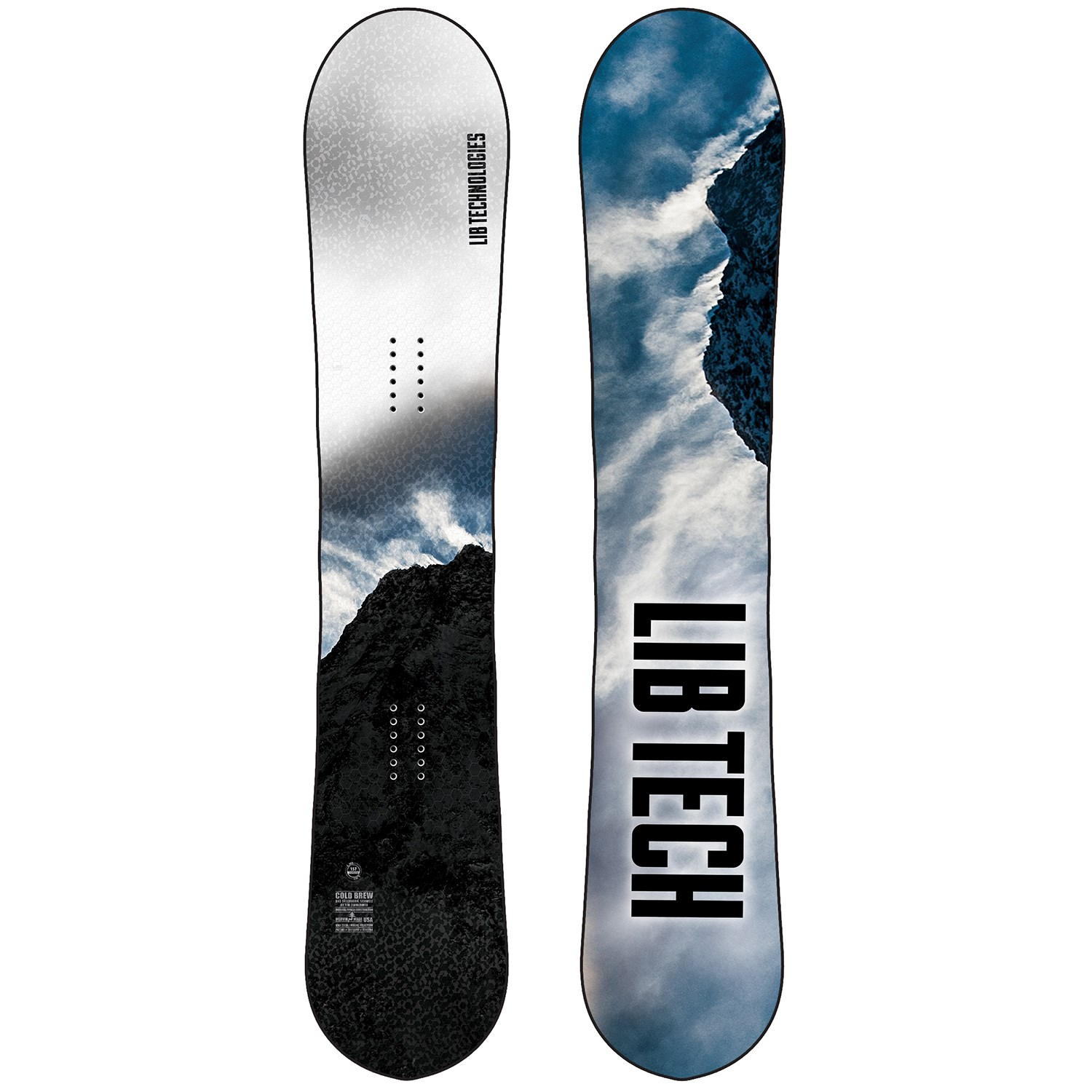 lib tech cold brew snowboard 2021
