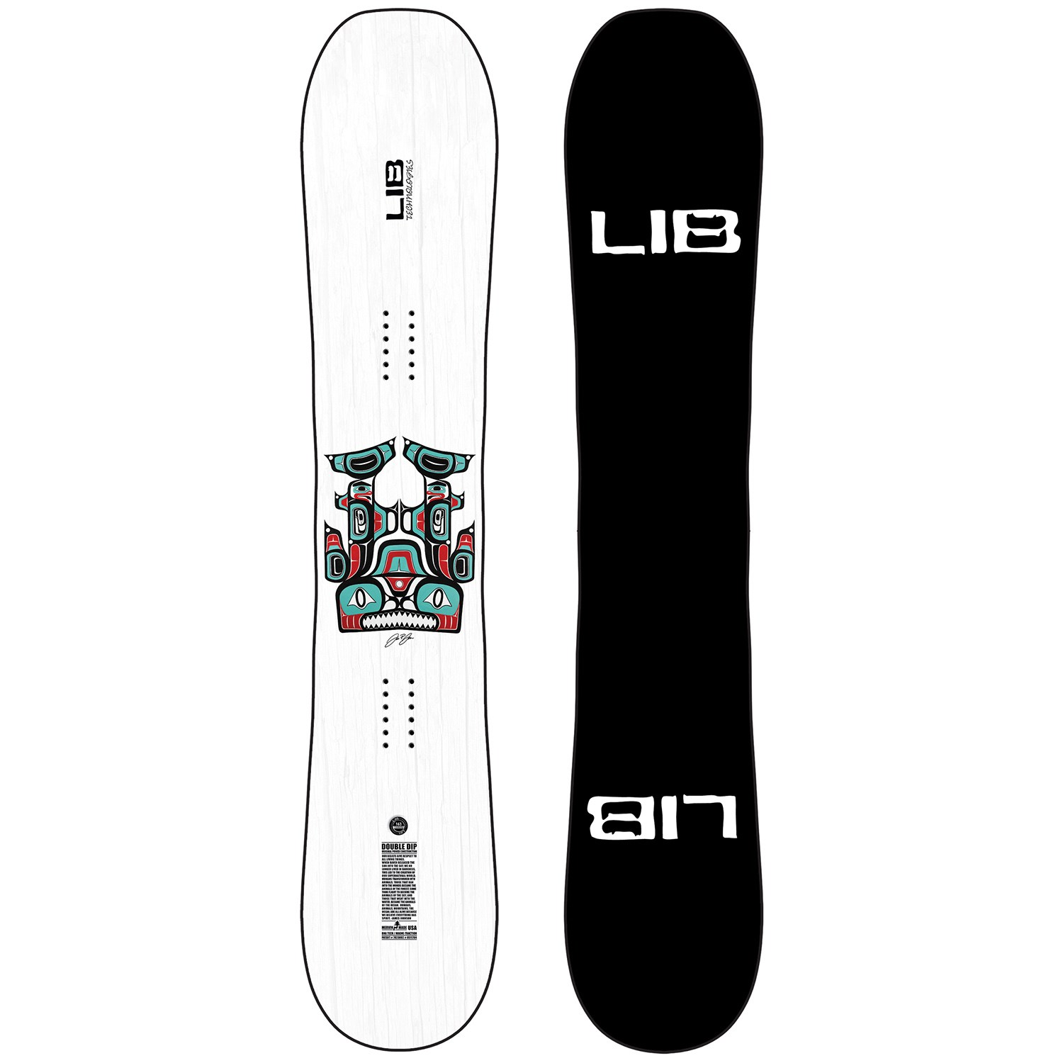 lib tech double dip snowboard 2021