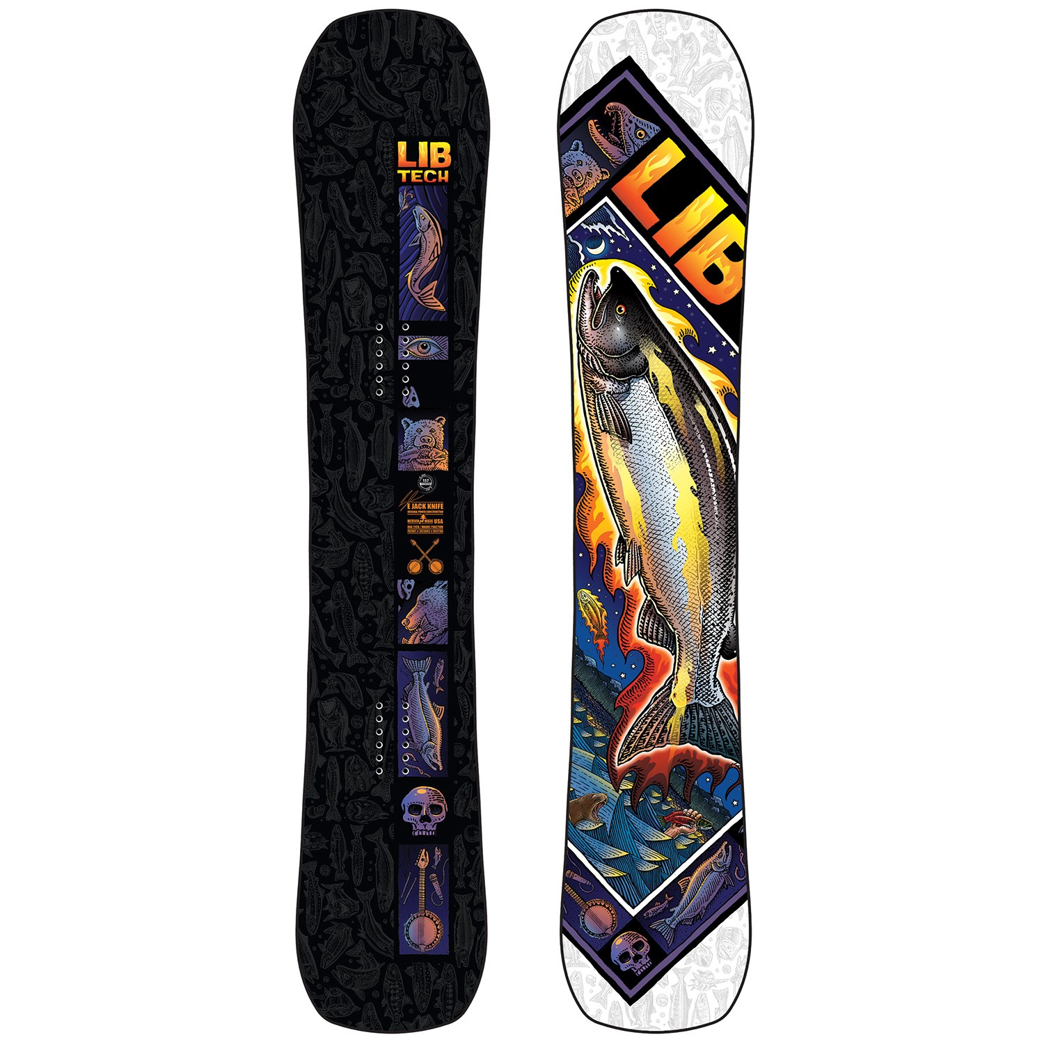 lib tech ejack knife snowboard 2021