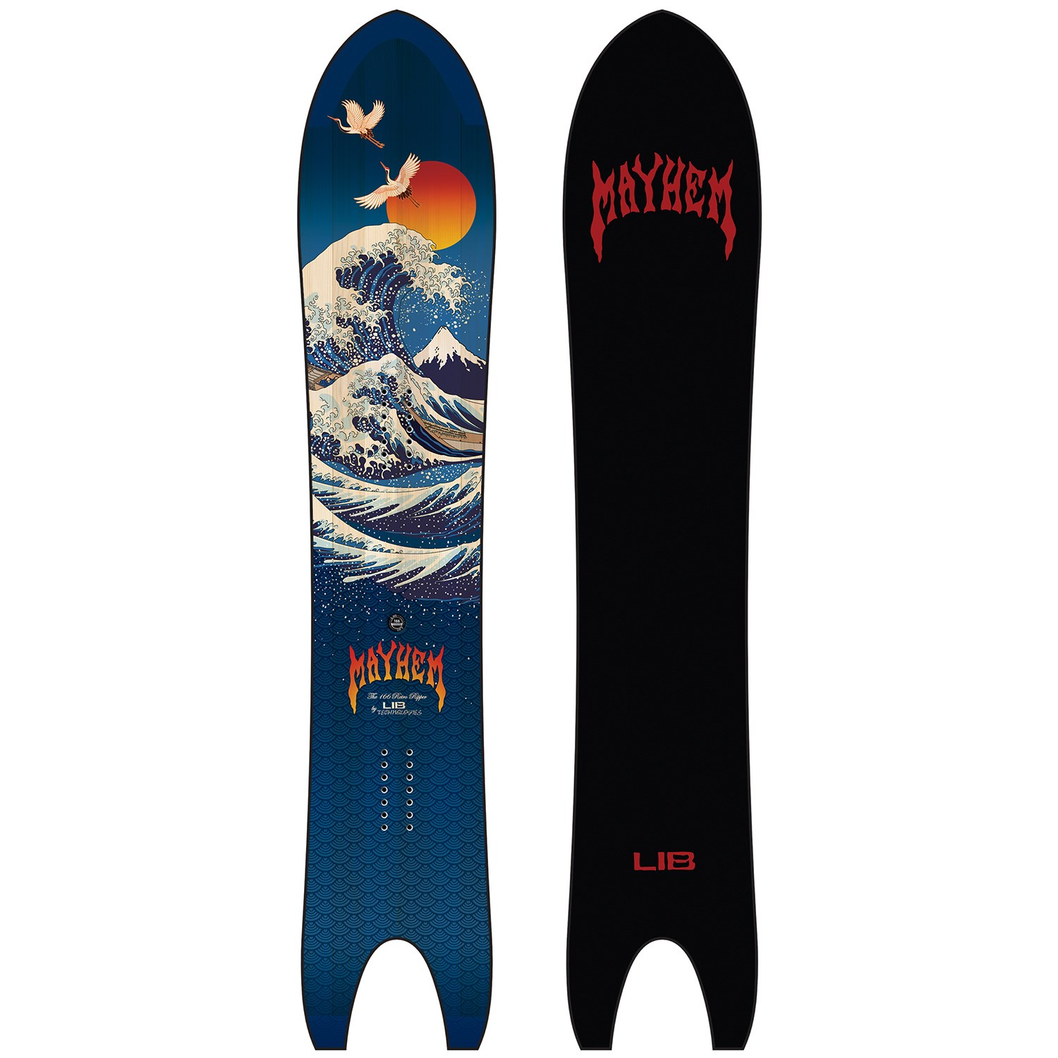 lib tech lost retro ripper snowboard 2021