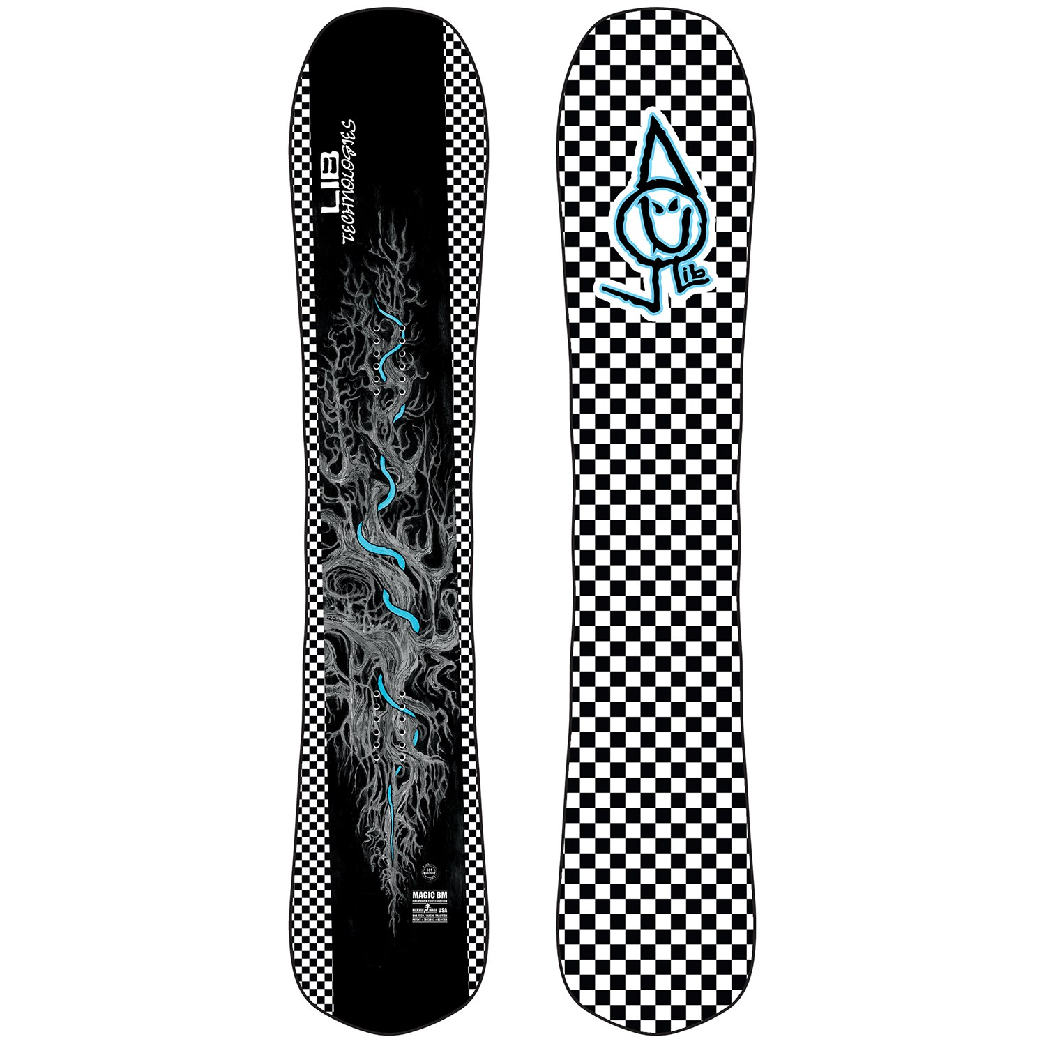 lib tech magic bm snowboard 2021