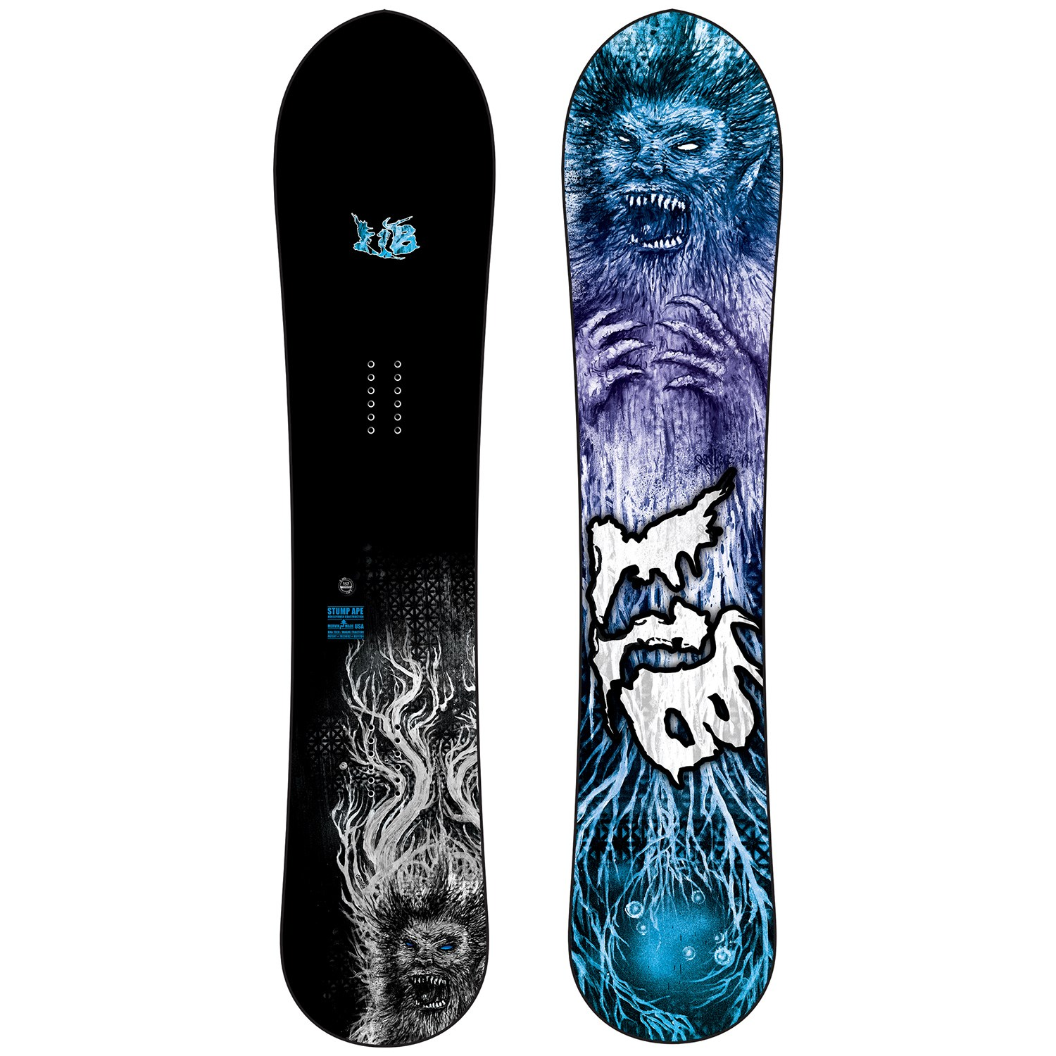 lib tech stump ape snowboard 2021